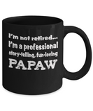 Papaw Retirement Gift Mug - Professional Papaw - The VIP Emporium