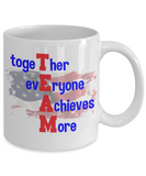 USA Team Mug - Together Everyone Achieves More