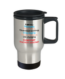 Elementary Teacher's Assistant Travel Mug - Gift Idea