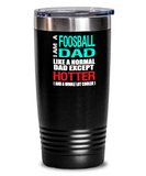Foosball Dad Insulated Tumbler - 20oz or 30oz - Hot and Cold Drinks - Funny Gift