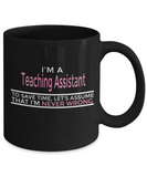 Teaching Assistants - Never Wrong - The VIP Emporium
