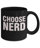 Choose Nerd - Retro 80s inspired mug