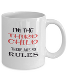 Sibling Mugs - Third Child - There Are No Rules - Ceramic Gift Mug - The VIP Emporium