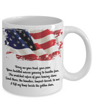 Lady Liberty Mug - Bring Me Your Tired, Your Poor, Your Huddled Masses - The VIP Emporium