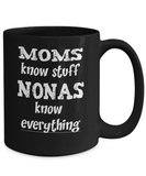 Nona Gift Coffee Mug - Nonas Know Everything - The VIP Emporium