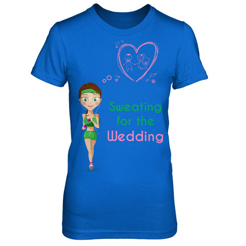 Sweating for the Wedding shirt - The VIP Emporium