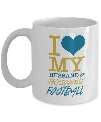 I Love My Husband and Jacksonville Football - The VIP Emporium