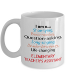 Elementary Teacher's Assistant Appreciation Gift Mug