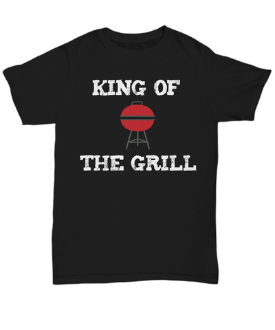 Fun Barbecue Shirt for Dad - King of the Grill - The VIP Emporium