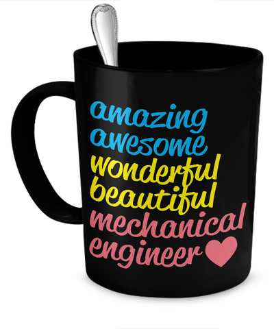 Amazing Mechanical Engineer mug - The VIP Emporium