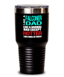 Falconer Dad Insulated Tumbler - 20oz or 30oz - Hot and Cold Drinks - Funny Gift - The VIP Emporium