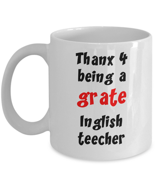 Funny gift for English Teacher - The VIP Emporium
