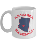 Arizona Baseball Mug - Fan Gift - The VIP Emporium
