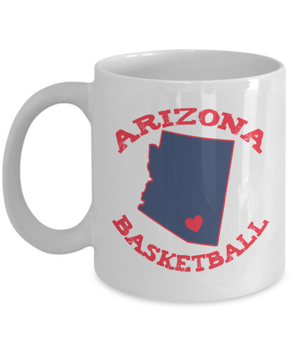 Arizona Basketball Mug - Fan Gift