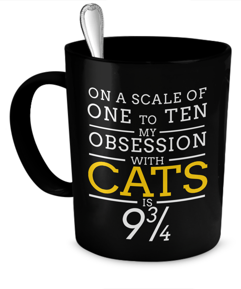 Cats Obsession Mug - The VIP Emporium