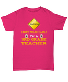 Third Grade Teacher Halloween Shirt - I Don't Scare Easily - The VIP Emporium