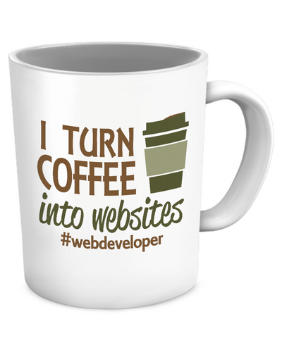 Webdeveloper's coffee mug - The VIP Emporium
