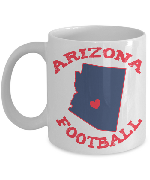 Arizona Football Mug - Fan gift - The VIP Emporium