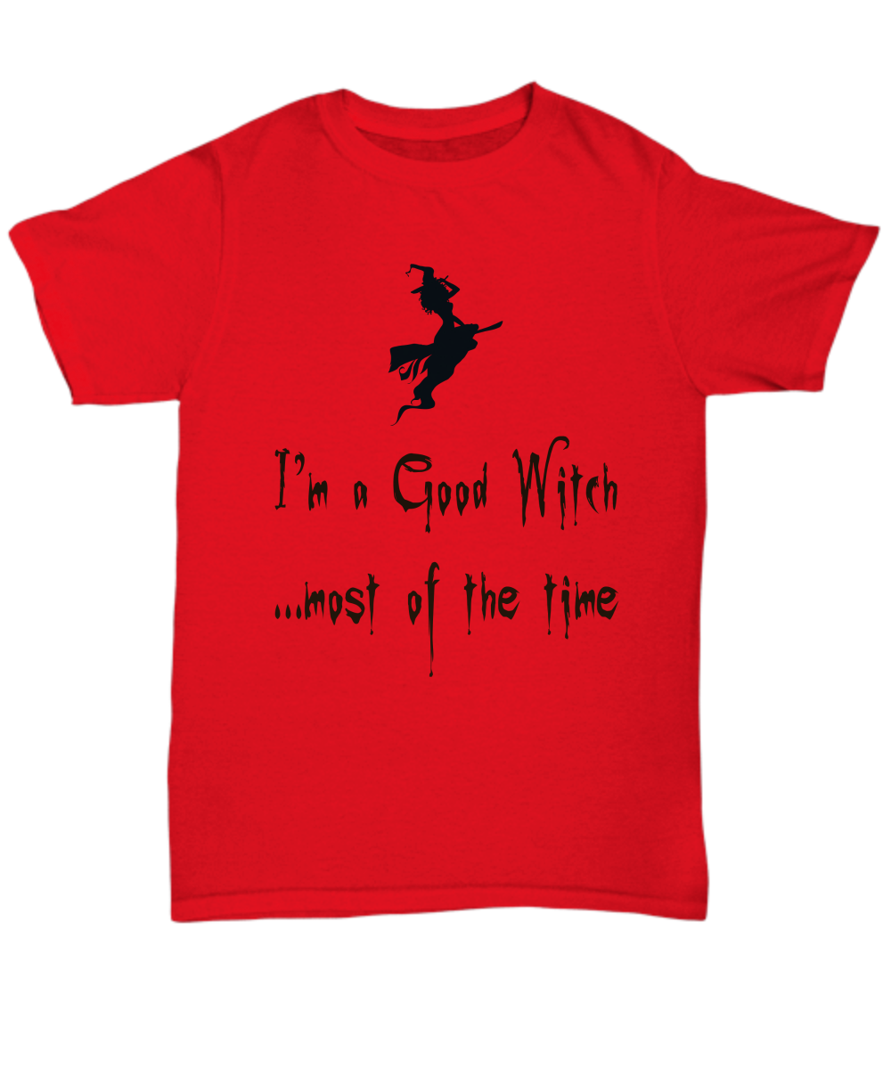 Good Witch Funny Shirt for Halloween