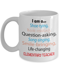 Life-changing Elementary Teacher - Appreciation Gift Mug