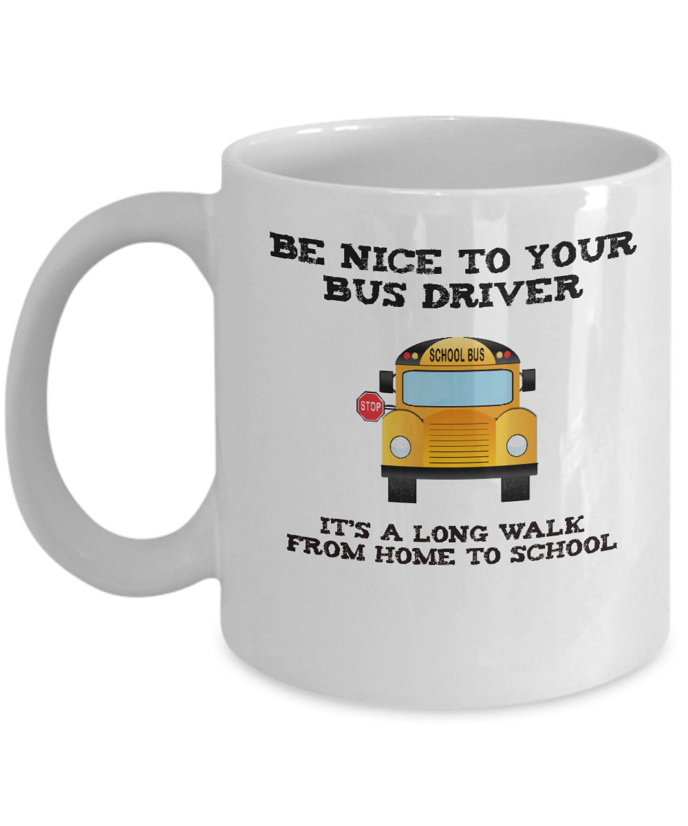 School Bus Driver Appreciation Gift Mug