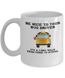 School Bus Driver Appreciation Gift Mug - The VIP Emporium