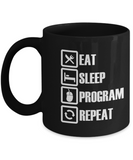 Computer Programmer Gift - Eat Sleep Program Repeat