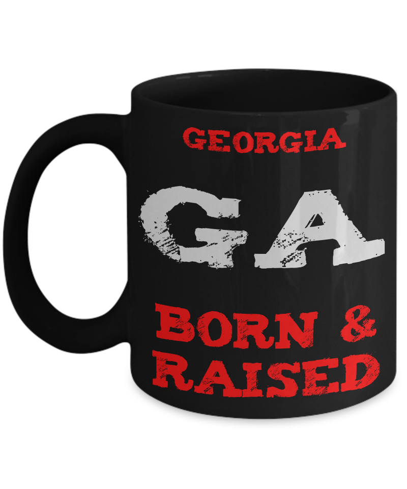 Georgia Born Mug - Georgia Gift Coffee Mug