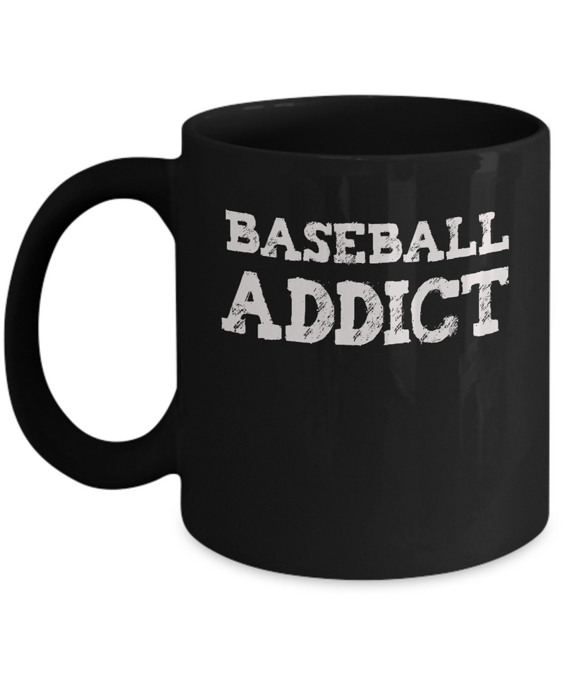Baseball Fan Gift Mug - Baseball Addict