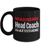 Head Coach with an Attitude - The VIP Emporium