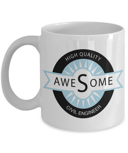 Awesome Civil Engineer Gift Mug - The VIP Emporium