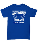 Awesome Husband Gift Tee Shirt