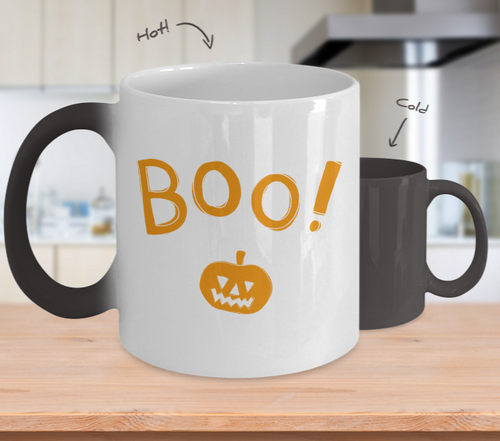 Color changing Halloween Mug
