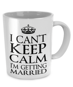 Calm? I'm getting MARRIED! - The VIP Emporium