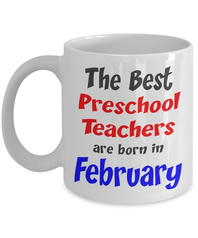 Preschool Teacher February Birthday gift - The VIP Emporium