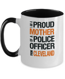 Mother of Cleveland Police Officer - Ceramic Two-Tone Mug - The VIP Emporium