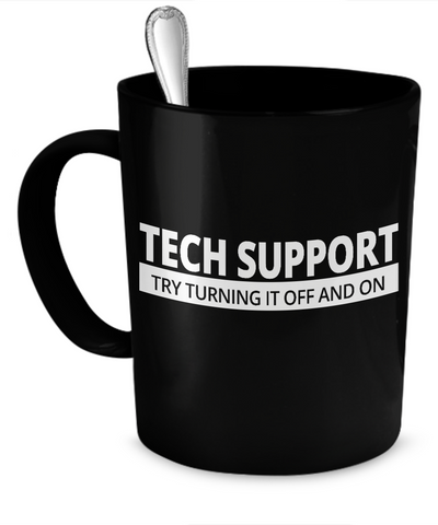 Tech Support - Try Turning it Off and On - The VIP Emporium