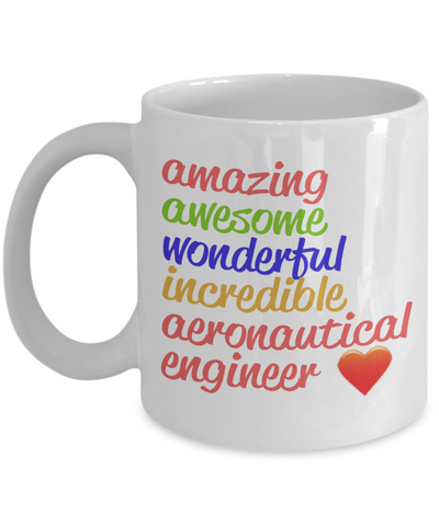 Amazing Awesome Aeronautical Engineer Mug