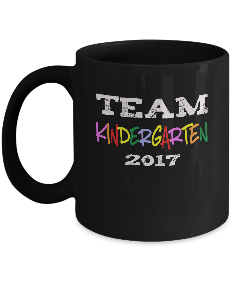 Team Kindergarten 2017 Mug for Teacher and Parents
