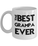 Best Grampa Ever Gift Mug - 11oz Ceramic - The VIP Emporium