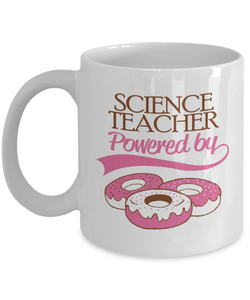 Science Teacher Powered by Donuts