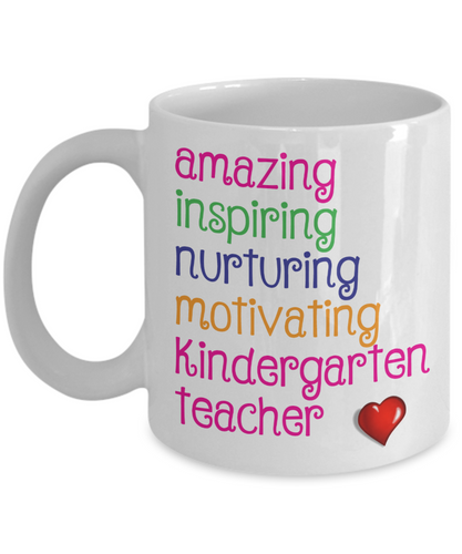 Amazing Inspiring Nurturing Kindergarten Teacher