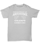 Awesome Gramps Gift Shirt for Grandfather - The VIP Emporium