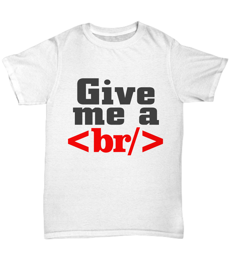 HTML Shirt - Gift for Coders