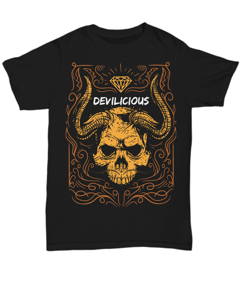 Scary Shirt for Halloween - Devilicious