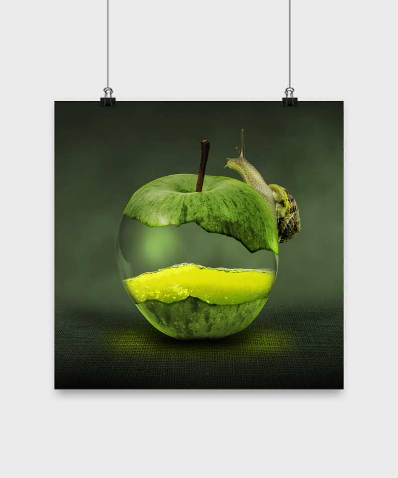 Apple Crawl Poster