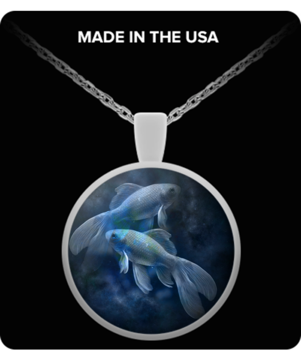 Pisces Starsign Necklace - The VIP Emporium