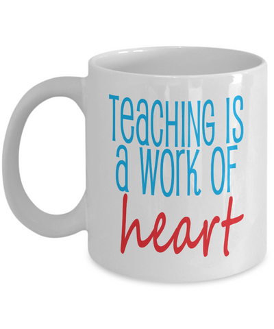 Teaching is a Work of Heart - The VIP Emporium