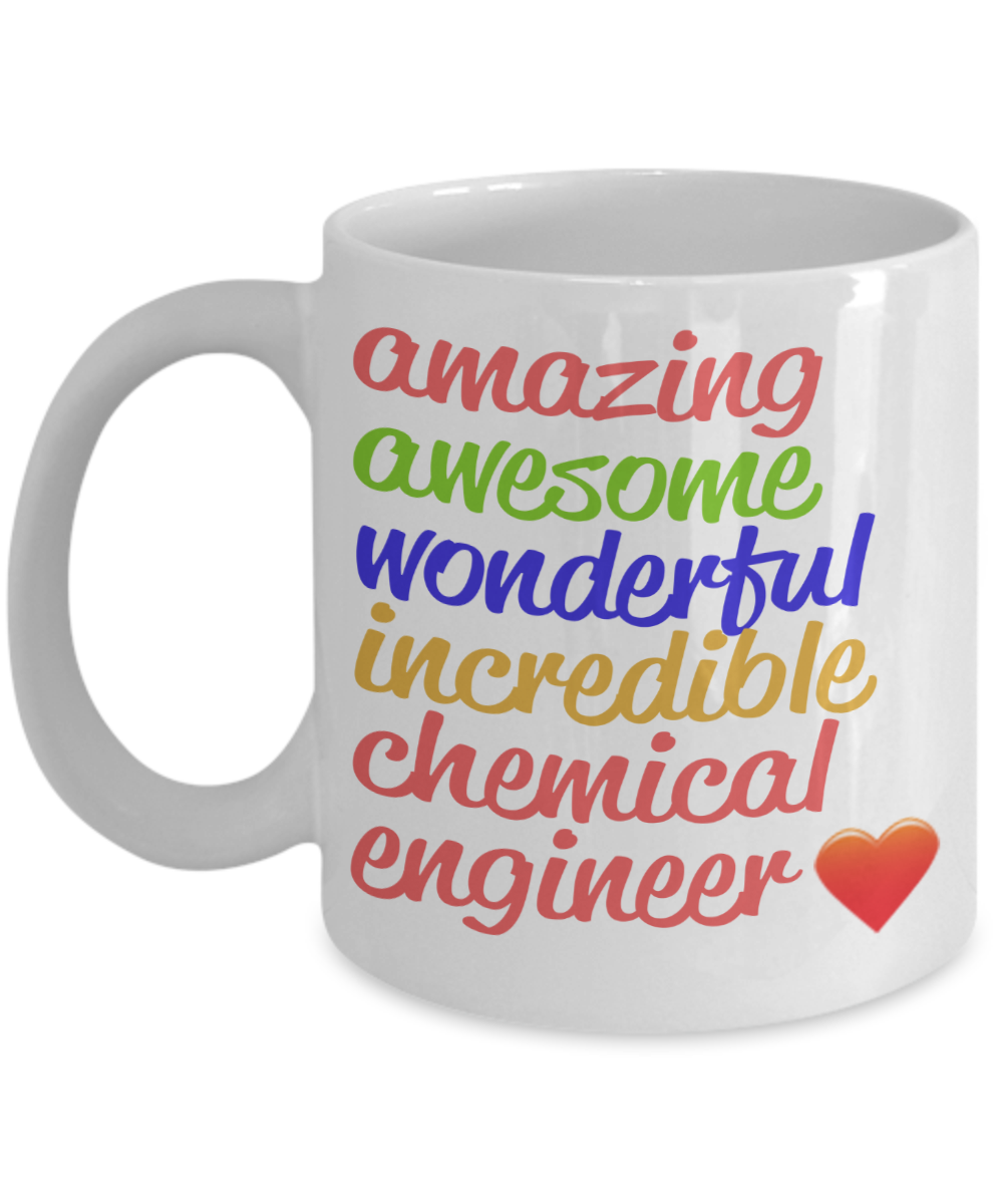 Amazing Awesome Chemical Engineer Gift Mug