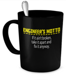 Engineer's Motto Mug - The VIP Emporium